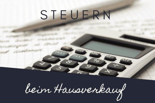 Steuern Hausverkauf Rosenheim